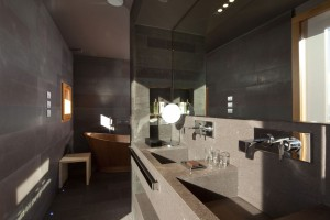 Energooszczędna i elegancka kolekcja  Diametro 35 we włoskim resorcie alpejskim