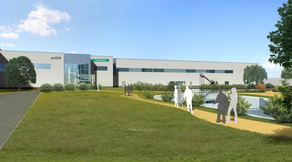 Hansgrohe SE inwestuje 30 mln Euro w budowę galwanizernii