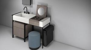Strefa umywalki: pomysły na szafki i konsole