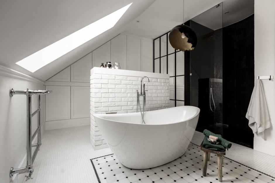 Łazienka niczym z Paryża: gotowy projekt salonu kąpielowego