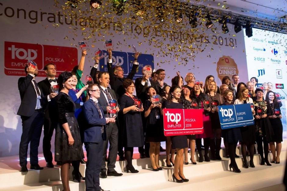 Whirlpool Polska wyróżniona 2 certyfikatami Top Employer 2018