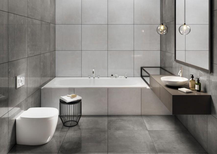 Aranżujemy łazienka I W Macie I W Połysku Płytki Gresowe