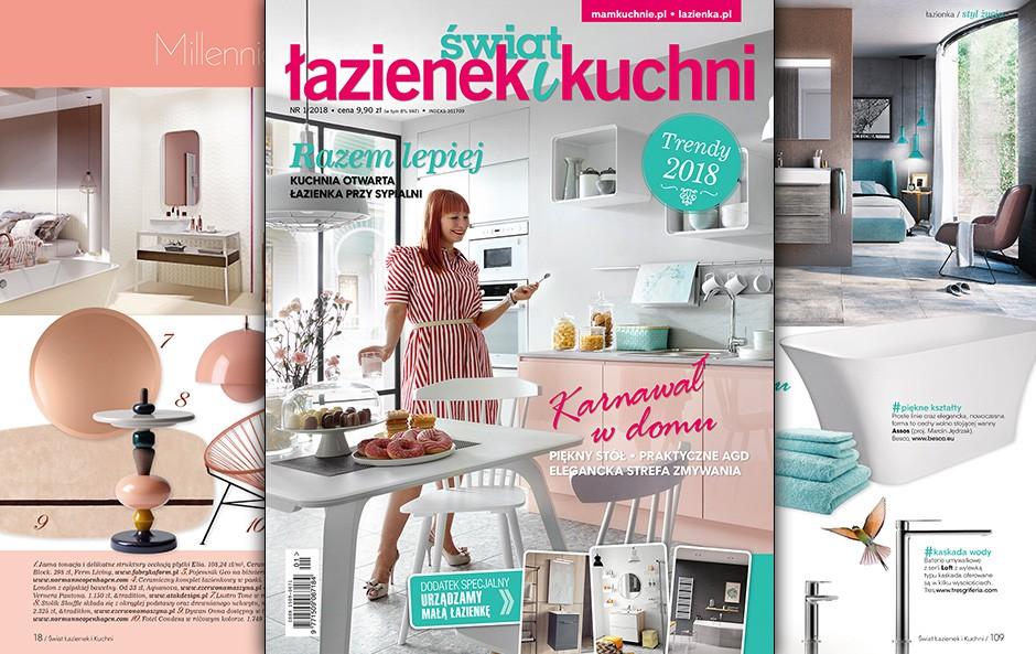 Inspirujemy Nowy Numer świata łazienek I Kuchni Już W