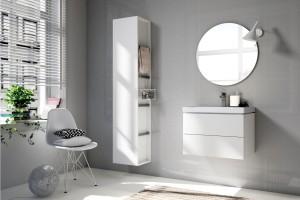 Białe meble łazienkowe: 8 ładnych kolekcji