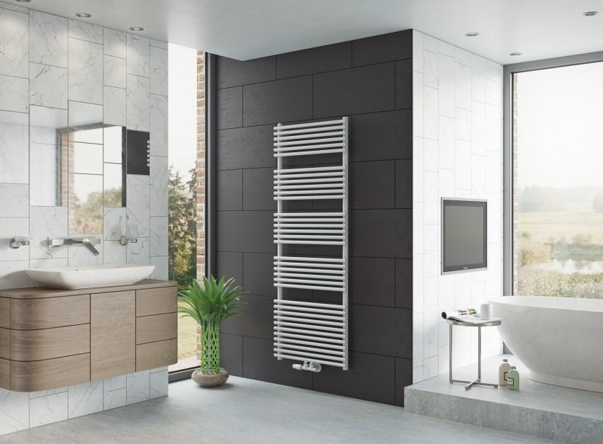 Grzejniki drabinkowe: praktyczny wybór do łazienki