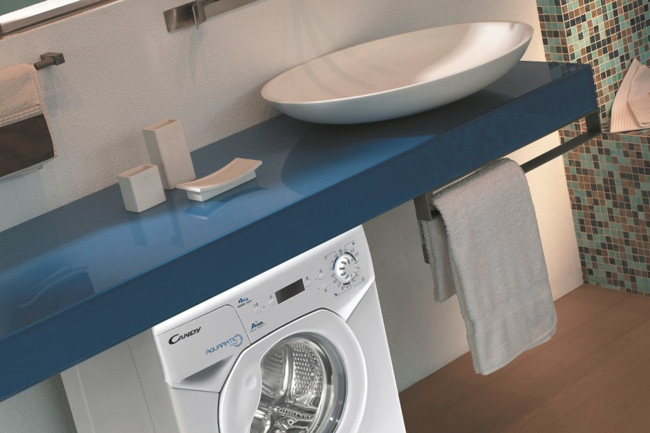 Mała łazienka: wybieramy pralkę typu slim