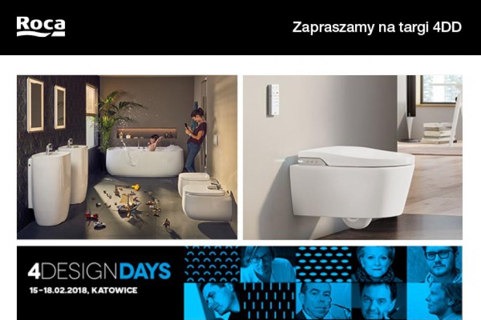 Roca oficjalnym partnerem 4 Design Days 2018