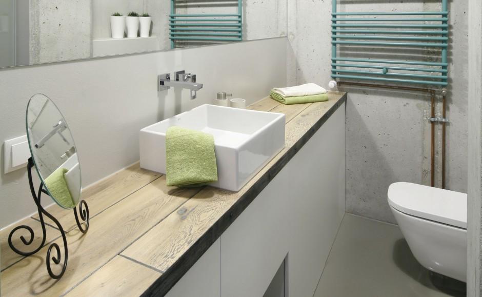 Łazienkowy blat: ciekawe pomysły projektantów