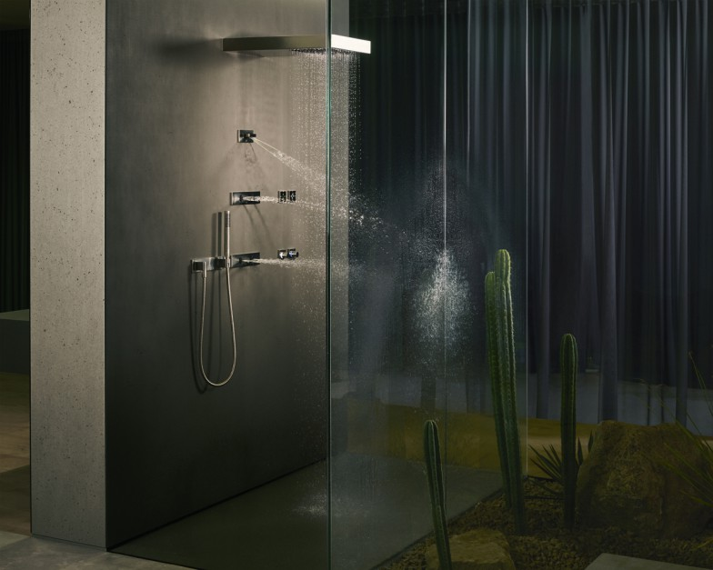 Dysze masujące WaterFan i WaterCurve / Dornbracht