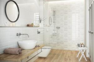 Natura w łazience: płytki ceramiczne zainspirowane przyrodą