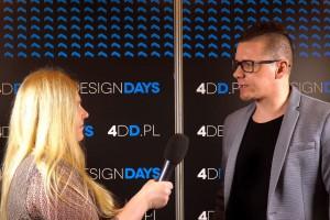 [Wideorelacja z 4DD] Tomasz Słomka z pracowni TOKA + HOME mówi o trendach w łazience