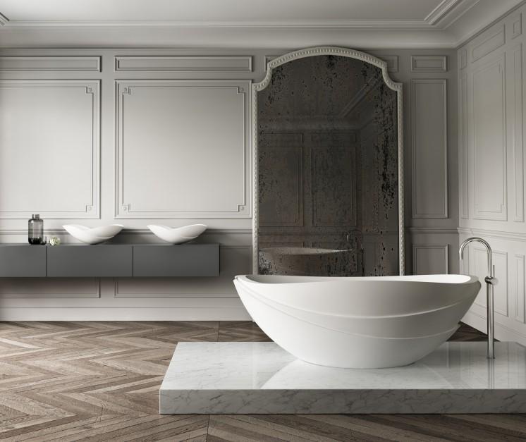 """Efekt """"wow"""" w łazience: niezwykłe modele wanien wolno stojących"""