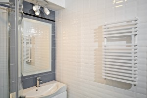 Remont łazienki - wymieniamy grzejnik