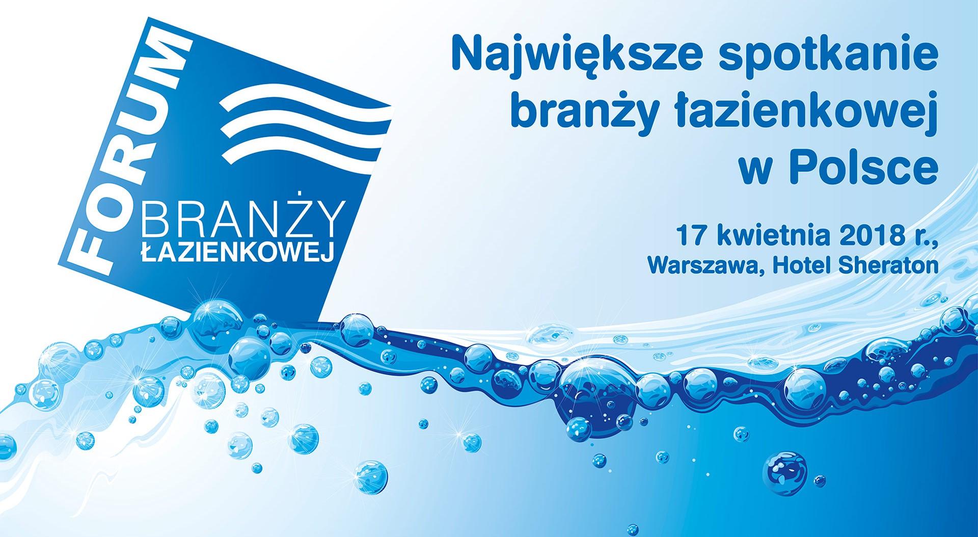 V Forum Branży Łazienkowej: ruszyła rejestracja!