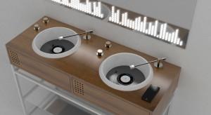 Konsola umywalkowa jak... konsola muzyczna! Zobacz niezwykły projekt!
