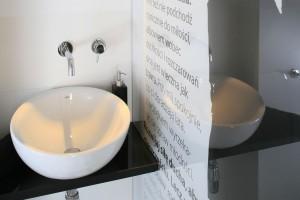 Ściana w łazience: niebanalne pomysły z polskich domów