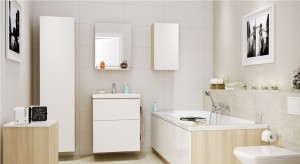 Meble łazienkowe: 14 podwieszanych kolekcji