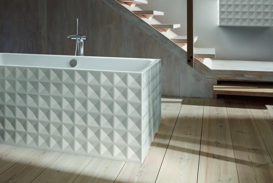 Efekty 3D w łazience: nie tylko na płytkach!
