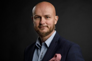 Adam Płotnicki z firmy Winkiel na Forum Branży Łazienkowej