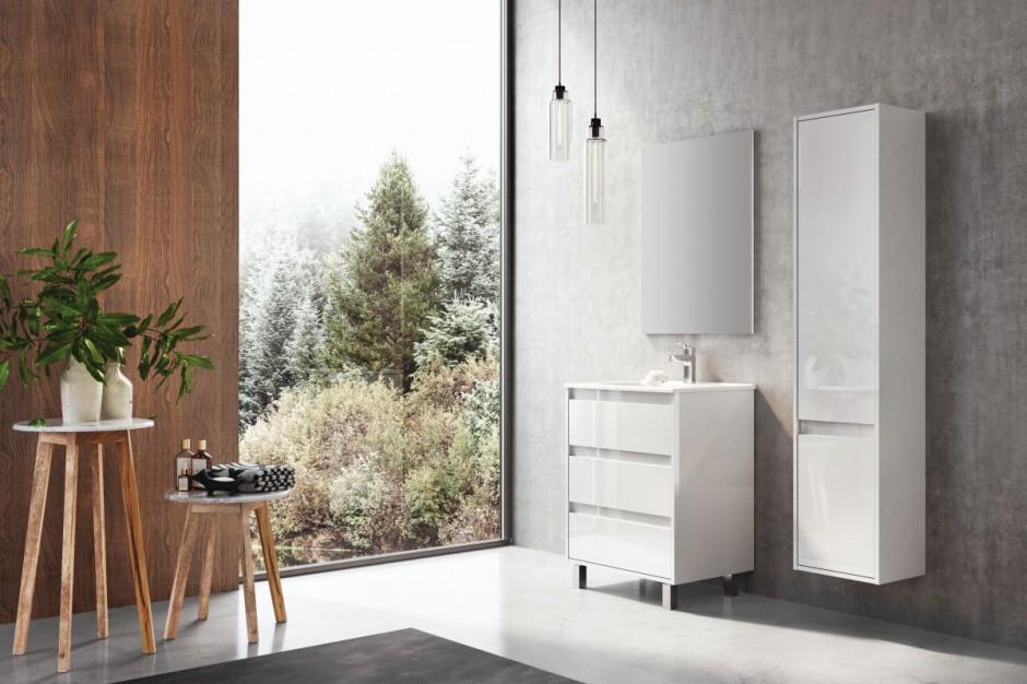 Meble łazienkowe: 12 kolekcji w bieli