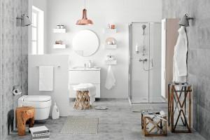 Jasna łazienka: kilka pomysłów na aranżację