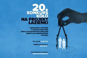 Jubileuszowa edycja konkursu Koło na projekt toalety