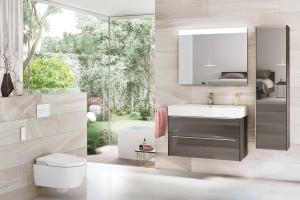Meble łazienkowe: 5 podwieszanych kolekcji