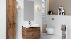 Porządek w małej łazience: meble idealne na niewielki metraż
