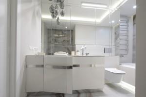 Elegancka łazienka: zobacz gotowy projekt z rysunkiem kamienia