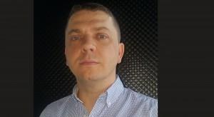 Rafał Przygocki z firmy Marmorin Design na Forum Branży Łazienkowej