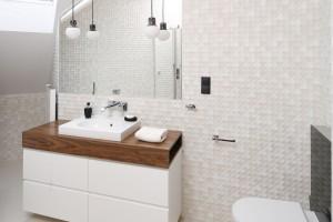 Blat w łazience: 16 zdjęć z polskich domów