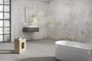 Ceramiczne slaby w łazience: 5 kolekcji wielkoformatowych płytek