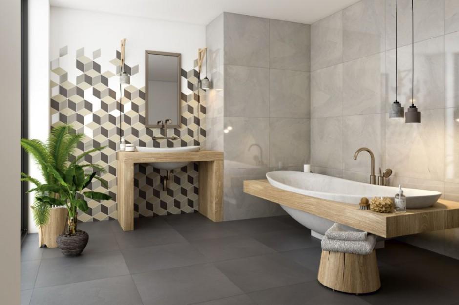 Aranżujemy Nowoczesna łazienka W Stonowanych Kolorach