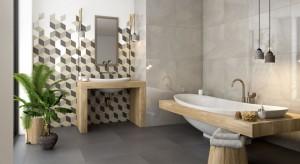 Nowoczesna łazienka w stonowanych kolorach: nowa kolekcja płytek