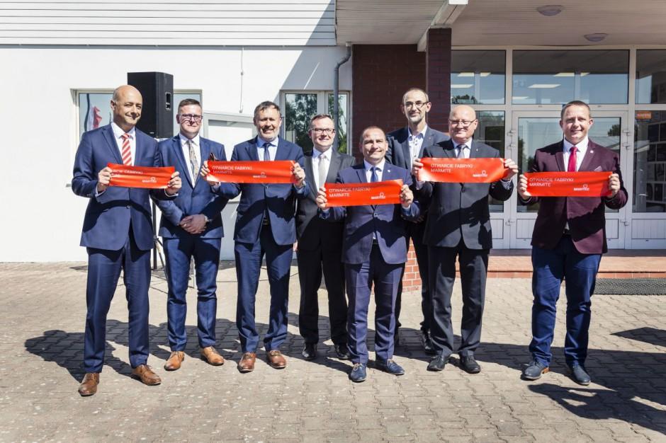Firma Marmite uruchomiła nowoczesny zakład produkcyjny w Łowyniu