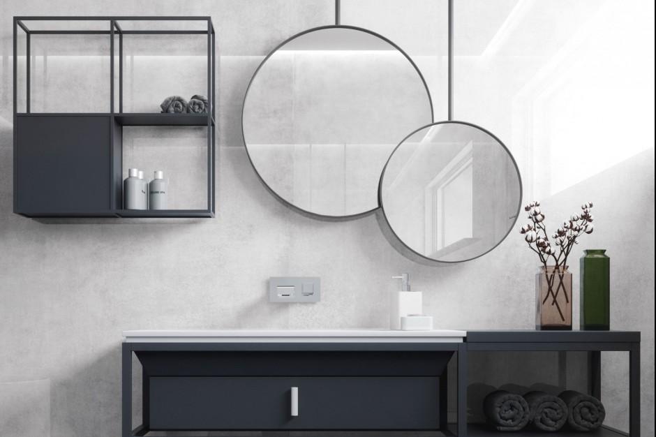 Trendy łazienkowe: wybierz płytki wielkoformatowe
