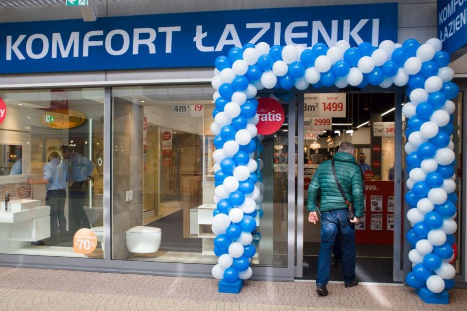Zbliża się otwarcie nowego salonu Komfort Łazienki w Warszawie