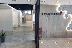 Zobacz nowy showroom Ceramiki Paradyż w Kijowie