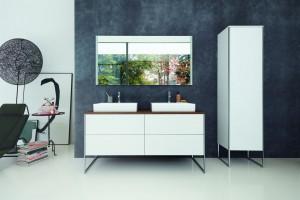 Nowoczesna łazienka: funkcjonalna i designerska kolekcja mebli