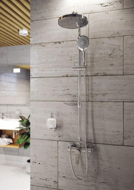 Relaks pod prysznicem - wybierz zestaw z deszczownią