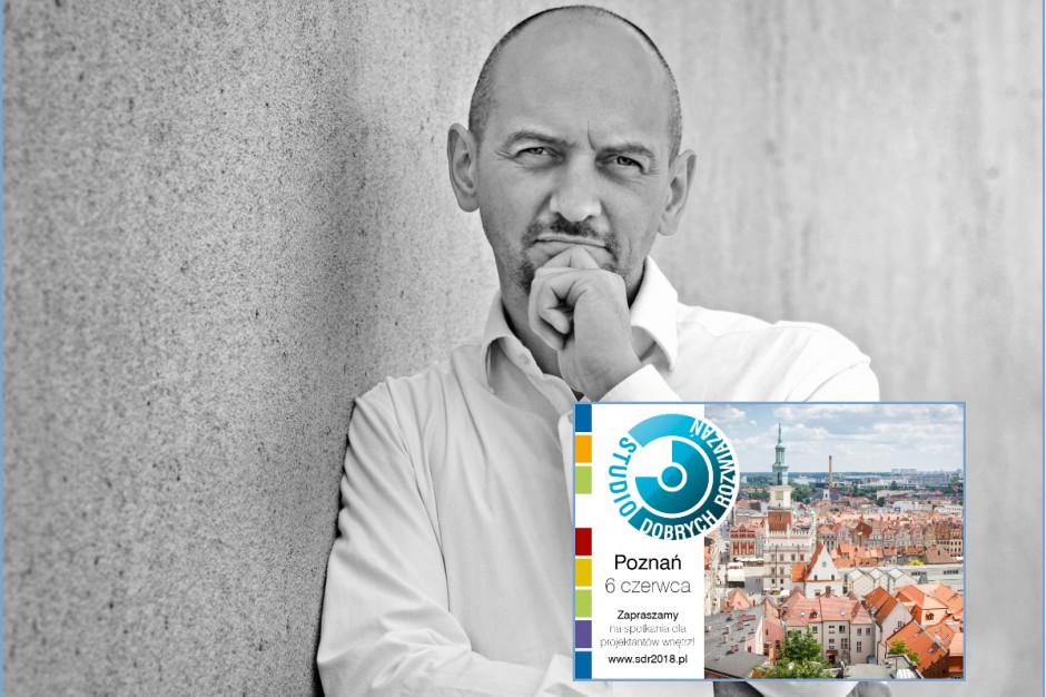 Architekt Piotr Wełniak na Studio Dobrych Rozwiązań w Poznaniu