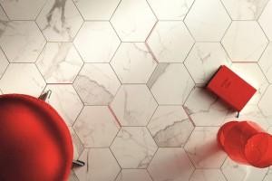 Płytki ceramiczne: 10 kolekcji jak heksagony