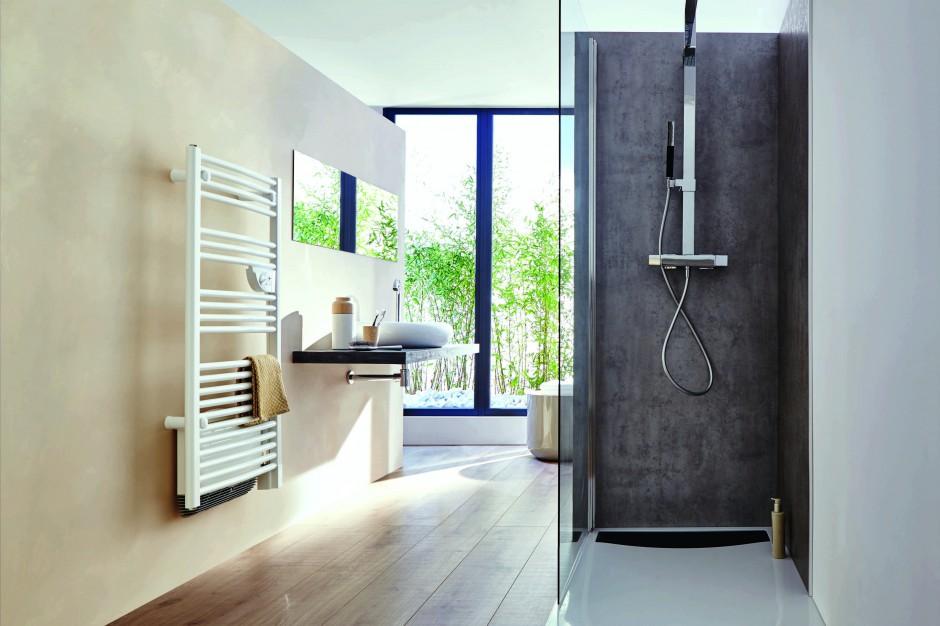 Grzejnik łazienkowy i suszarka do ręczników: model 2w1