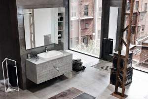 Meble łazienkowe: świetne pomysły na fronty