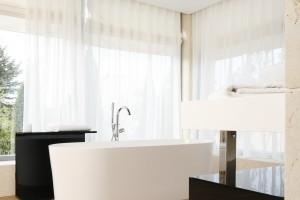 Łazienka z wanną wolno stojącą: projekty z polskich domów