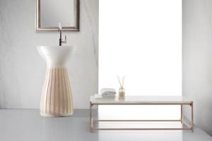 Design w łazience: 5 modeli wolno stojących umywalek