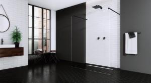 6 ciekawych pomysłów na czerń w łazience