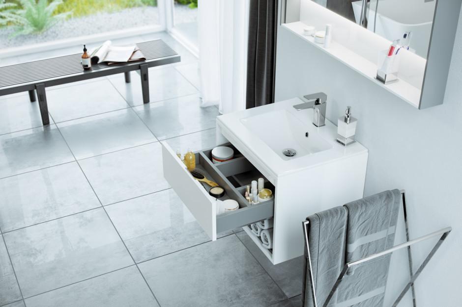 Udane połączenie funkcjonalności i komfortu w meblach łazienkowych TUTO