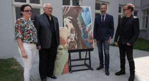Ceramika Tubądzin i Wojciech Siudmak na łódzkich podwórkach sztuki