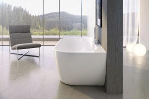 Elegancka łazienka: nowy model wanny